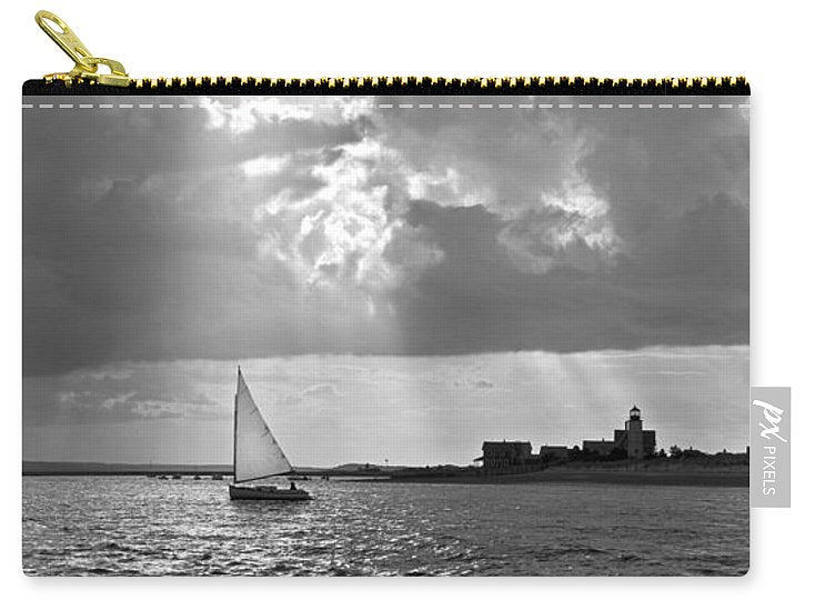 Catboat In Barnstable Harbor - Carry-All Pouch