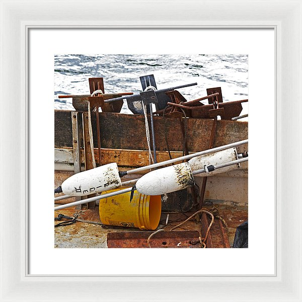 Chatham Fishing - Framed Print