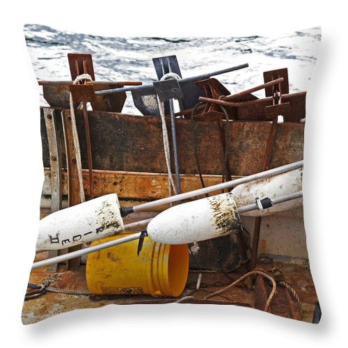 Chatham Fishing - Throw Pillow