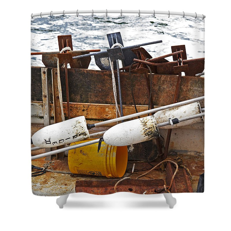 Chatham Fishing - Shower Curtain