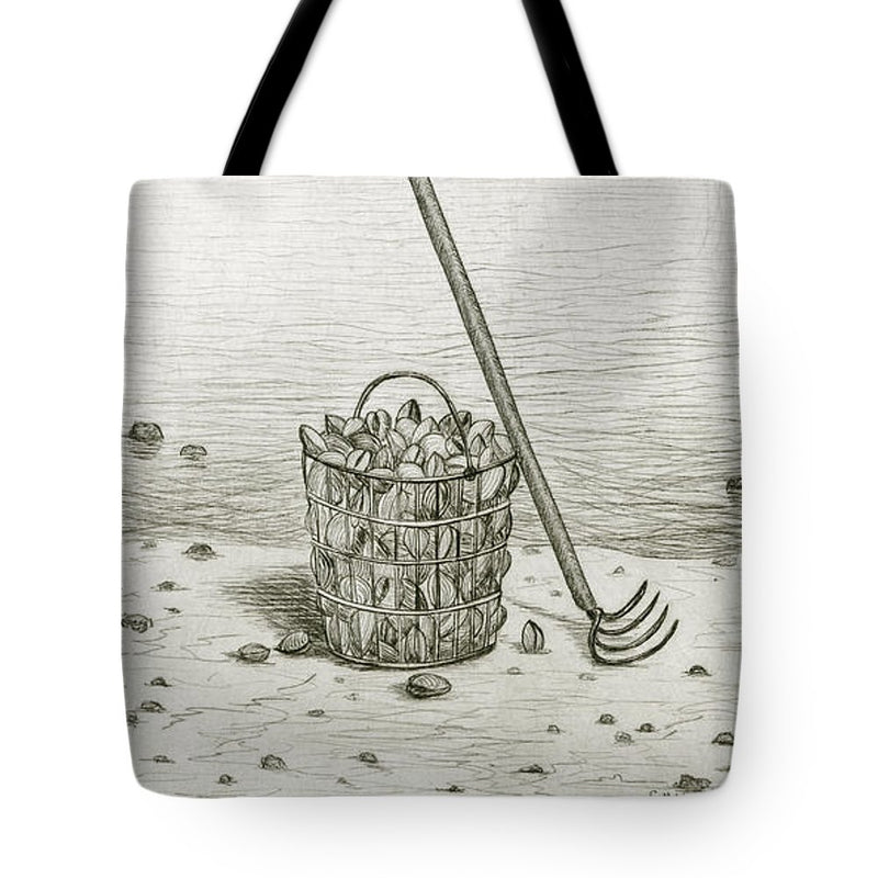 Clamming - Tote Bag