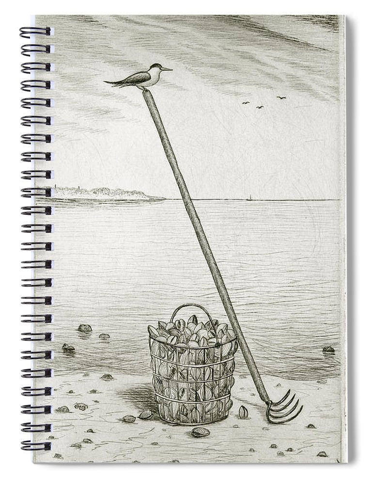 Clamming - Spiral Notebook