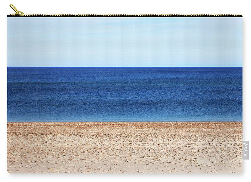Classic Sandy Beach Scene - Carry-All Pouch