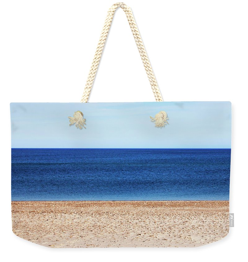 Classic Sandy Beach Scene - Weekender Tote Bag