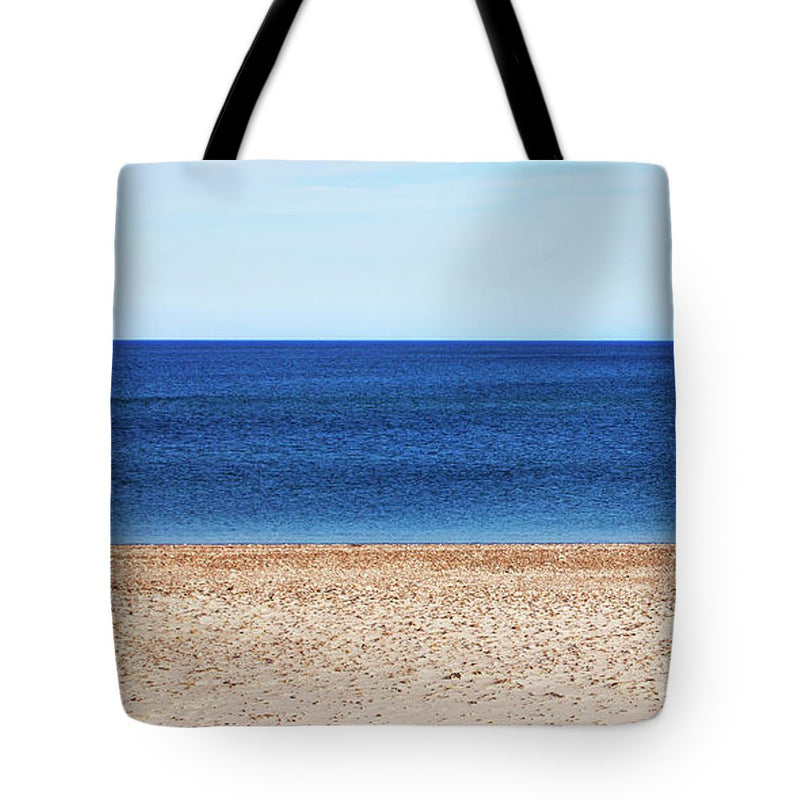 Classic Sandy Beach Scene - Tote Bag