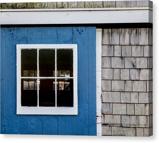 Old Clubhouse Door Composition - Canvas Print