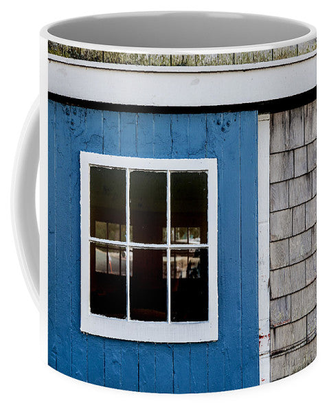 Old Clubhouse Door Composition - Mug