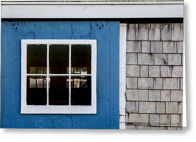 Old Clubhouse Door Composition - Greeting Card