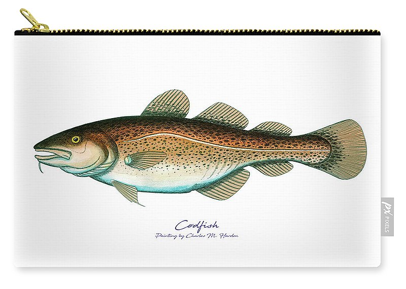 Codfish - Carry-All Pouch