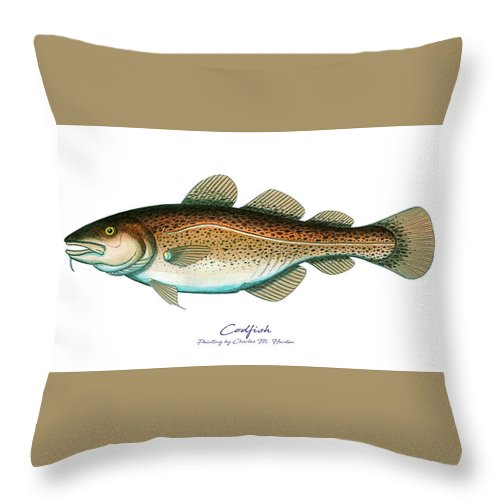 Codfish - Throw Pillow