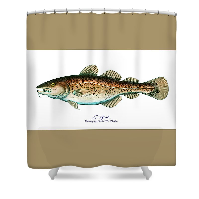 Codfish - Shower Curtain