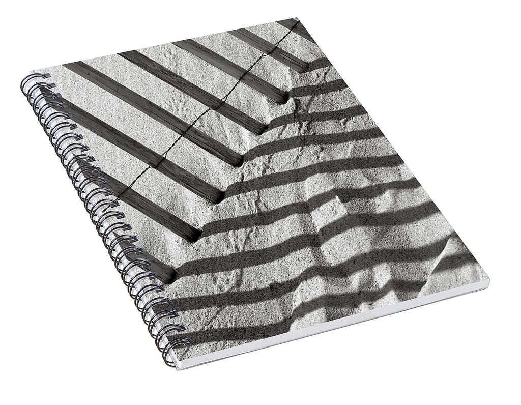 Dune Fence - Spiral Notebook