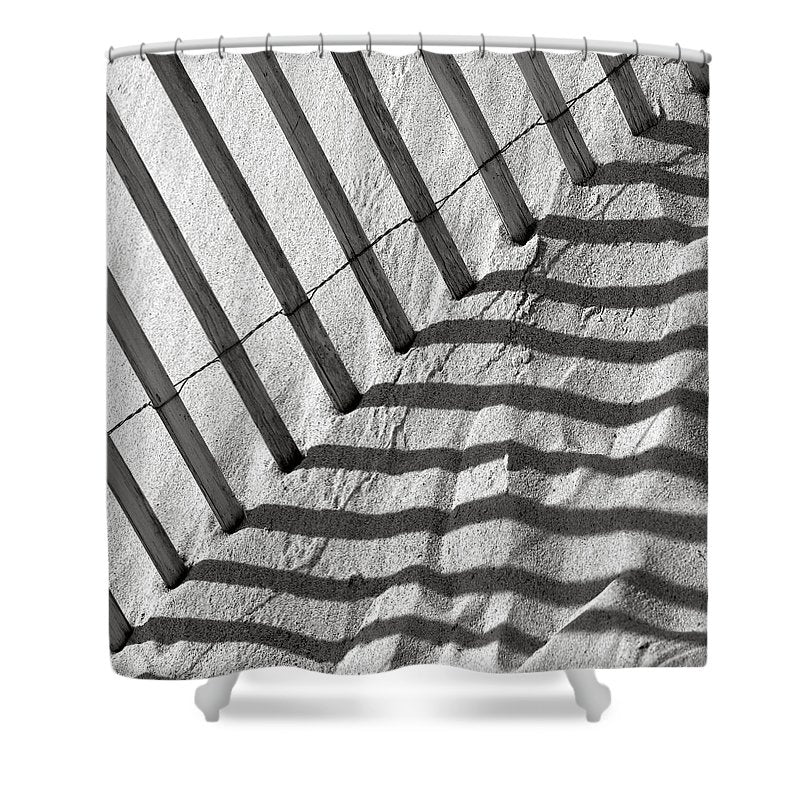 Dune Fence - Shower Curtain