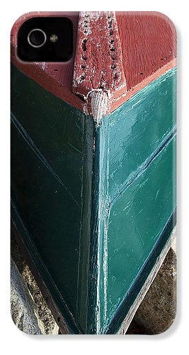 Old Wooden Painted Duxbury Skiff - Phone Case