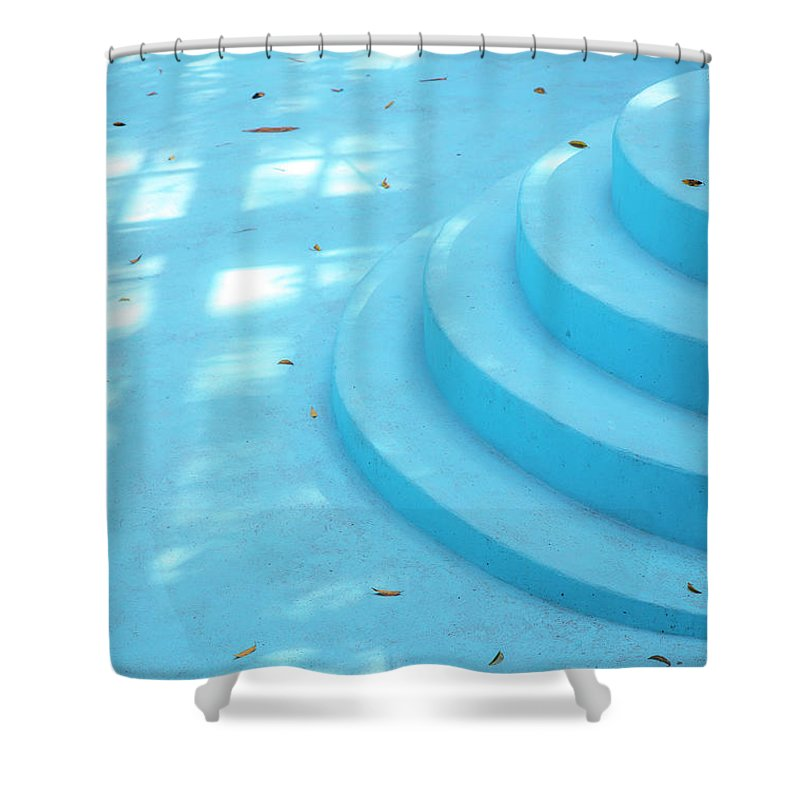 Ernest Hemingway Pool Havana Cuba - Shower Curtain