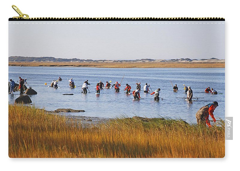 Fall Shellfishing For Barnstable Oysters - Carry-All Pouch