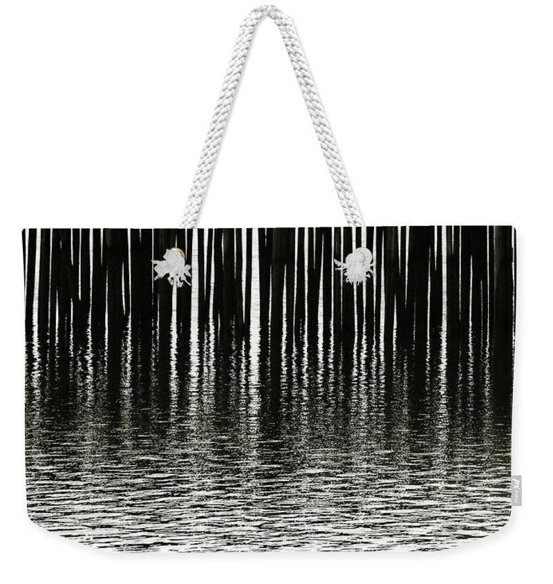 Fishermans Wharf Provincetown - Weekender Tote Bag