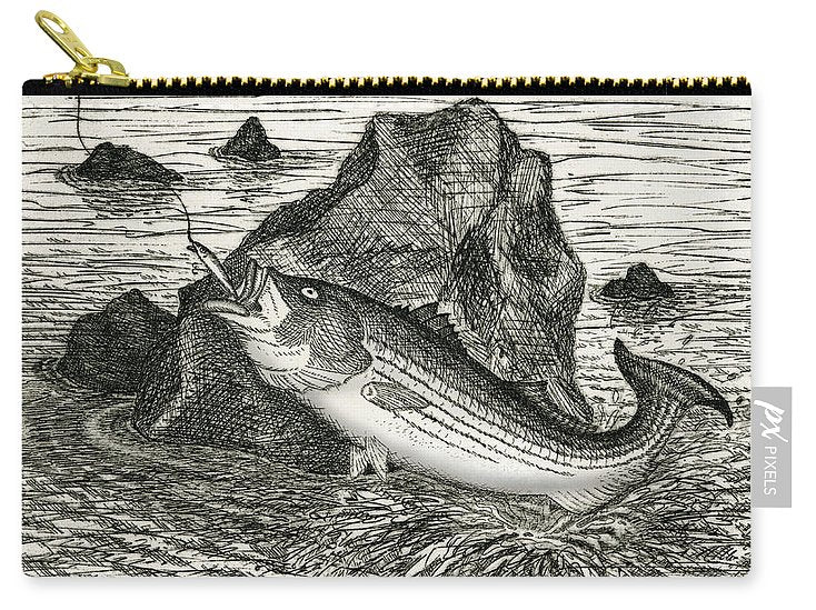 Fishing The Rocks - Carry-All Pouch