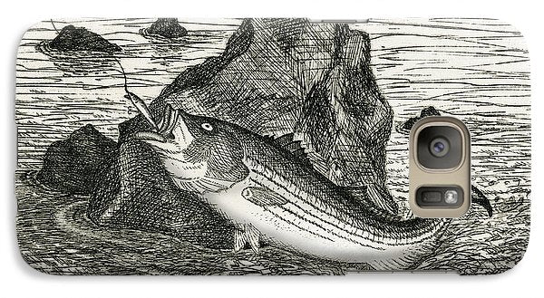 Fishing The Rocks - Phone Case