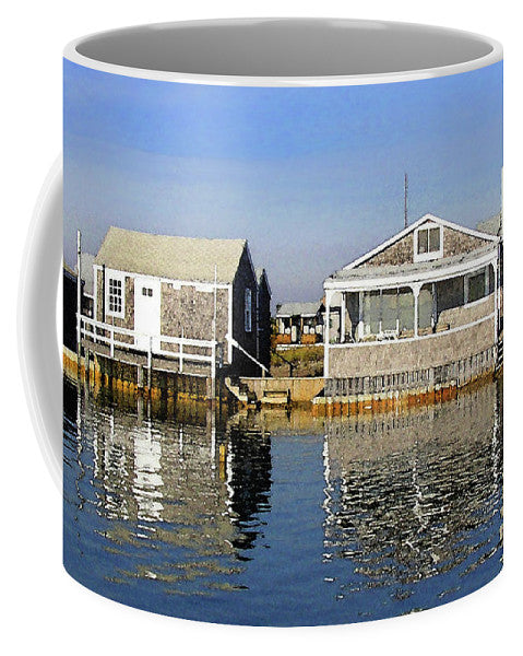 Fletchers Camp And The Little House Sandy Neck - Mug
