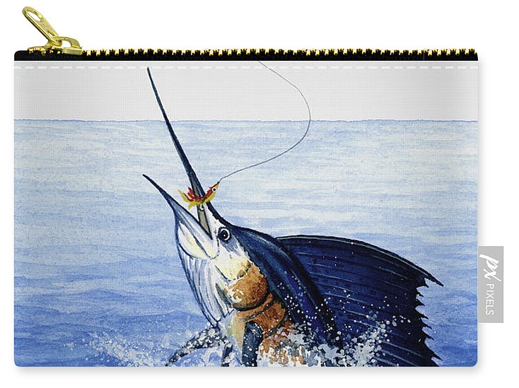 Fly Fishing For Sailfish - Carry-All Pouch