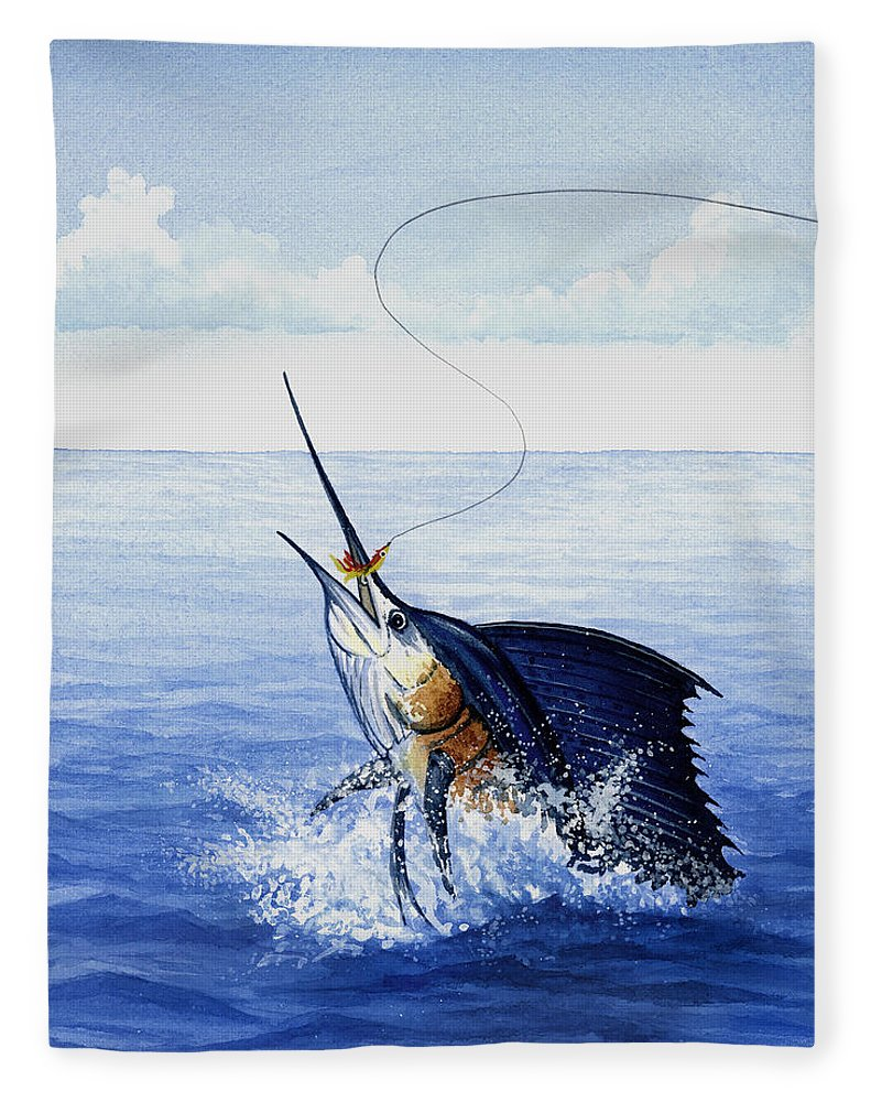 Fly Fishing For Sailfish - Blanket