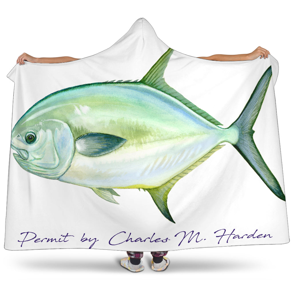 Permit Hooded Blanket