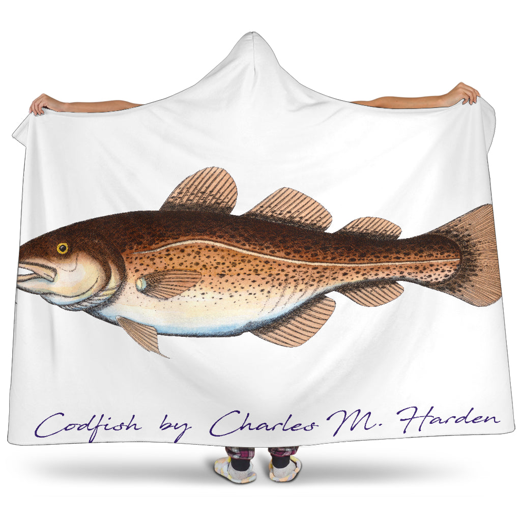 Codfish Hooded Blanket