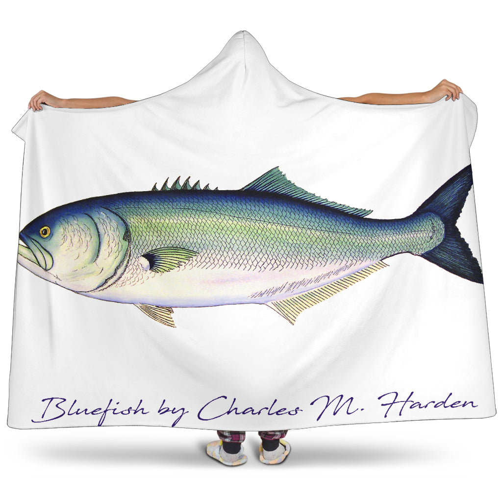 Bluefish Hooded Blanket