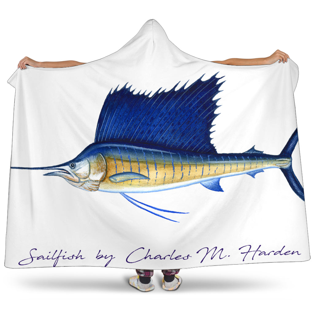 Sailfish Hooded Blanket