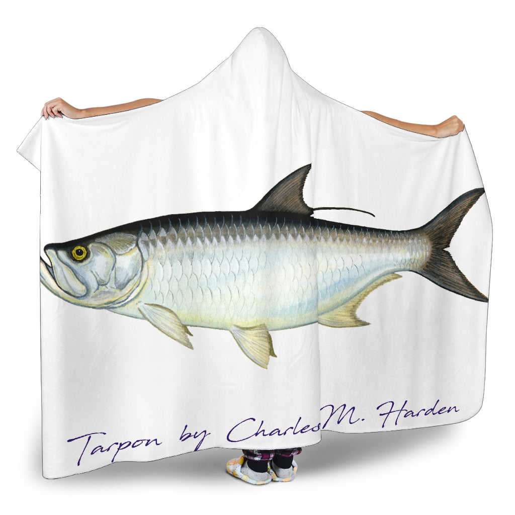 Tarpon Hooded Blanket