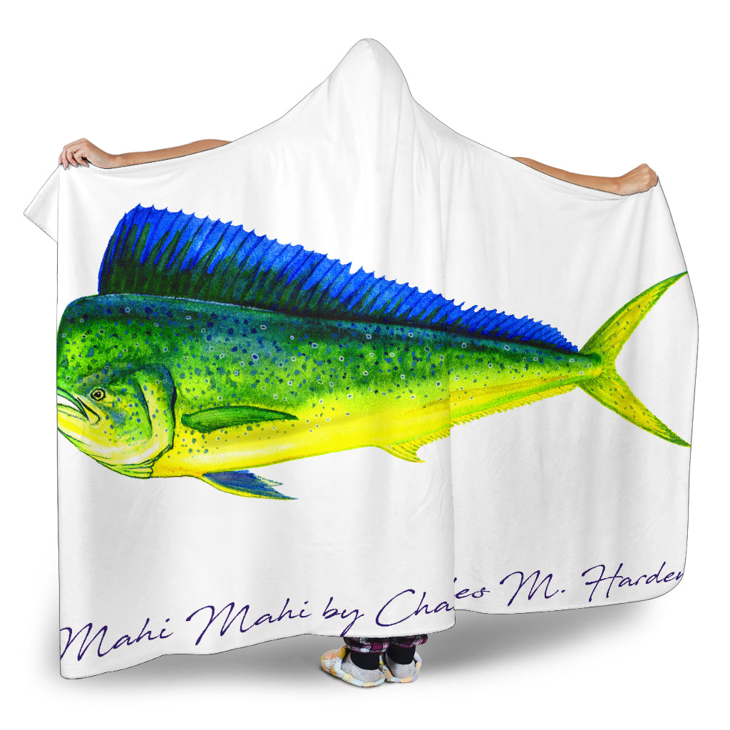 Mahi Mahi Hooded Blanket