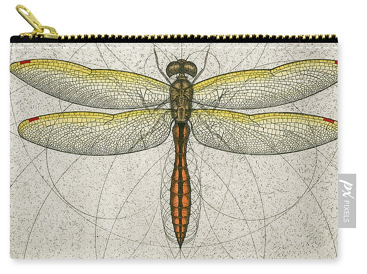 Golden Winged Skimmer - Carry-All Pouch