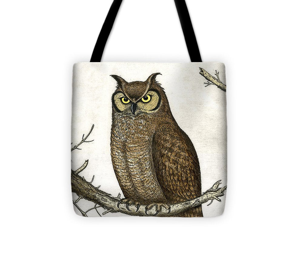 Great Horned Owl - Tote Bag