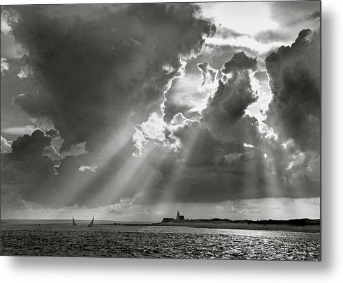 Barnstable Harbor Sail - Metal Print