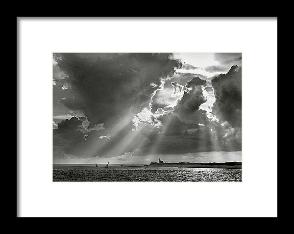 Barnstable Harbor Sail - Framed Print