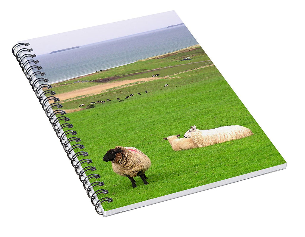 Irish Coast County Kerry Dingle - Spiral Notebook