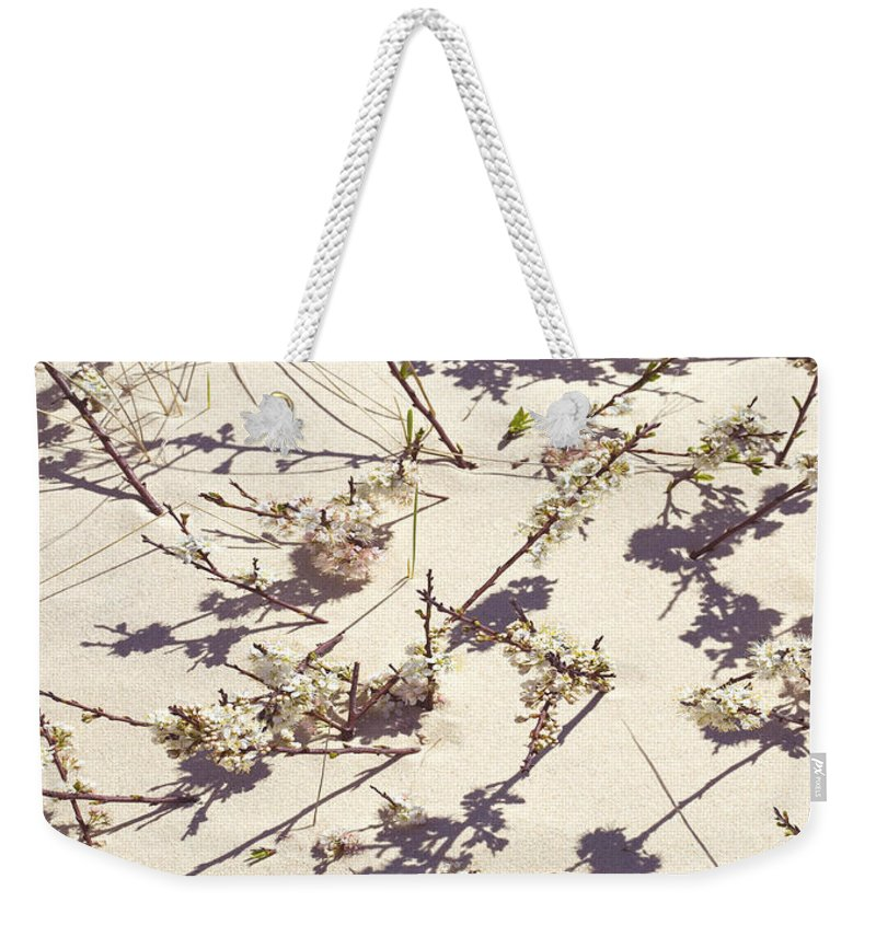 Tashmoo Sand Dune With Blossoms - Weekender Tote Bag