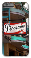 Licorama Bar Liquor Store In Havana Cuba At Calle 6 - Phone Case