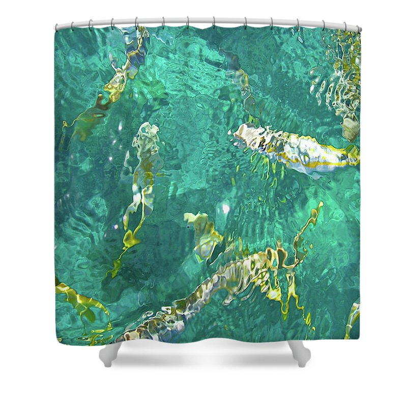 Looe Key Reef - Shower Curtain