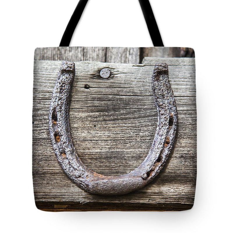 Lucky Horseshoe - Tote Bag