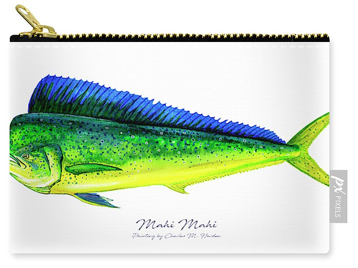 Mahi Mahi - Carry-All Pouch