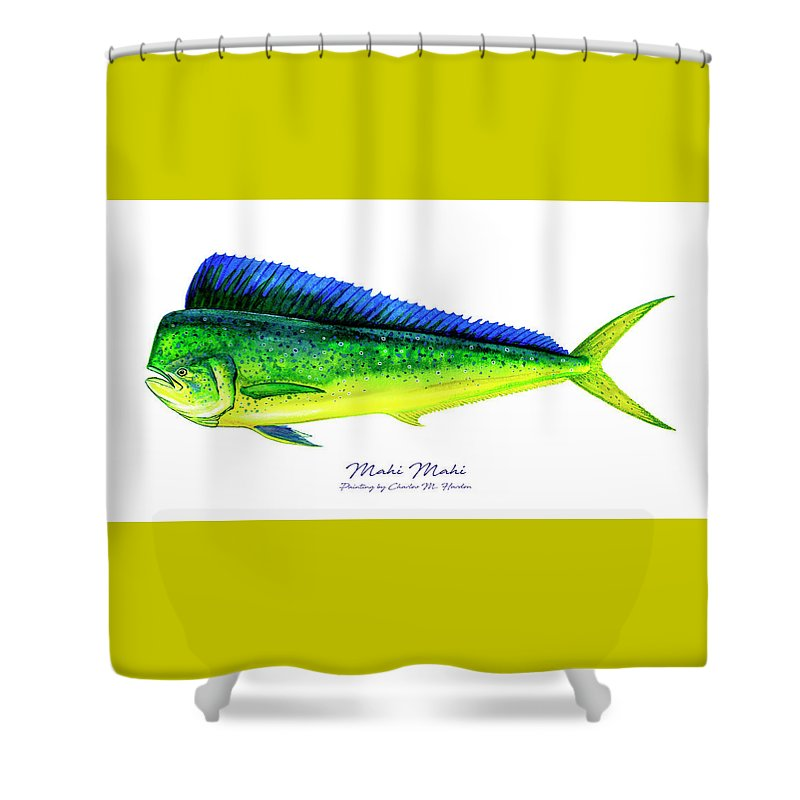 Mahi Mahi - Shower Curtain