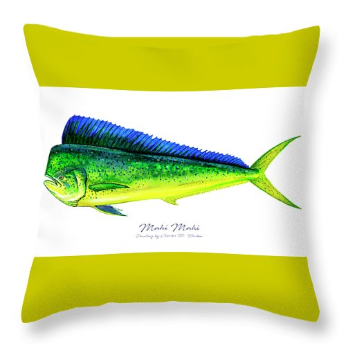 Mahi Mahi - Throw Pillow