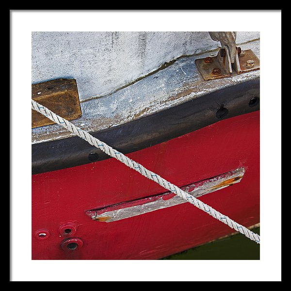 Marine Abstract - Framed Print