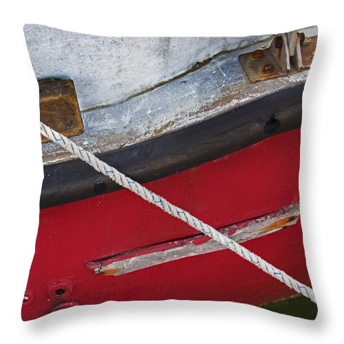 Marine Abstract - Throw Pillow