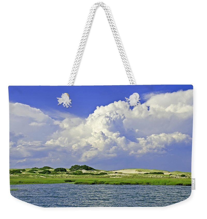 Marsh And Dunes And Clouds - Weekender Tote Bag