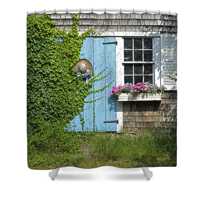 Millway Scene In Barnstable - Shower Curtain
