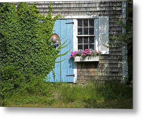 Millway Scene In Barnstable - Metal Print