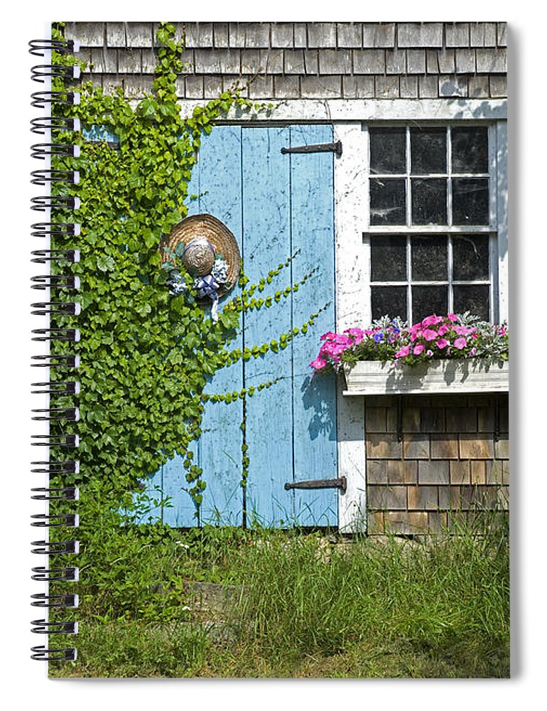 Millway Scene In Barnstable - Spiral Notebook